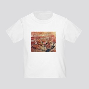 Van Gogh French Novels and Rose Toddler T-Shirt
