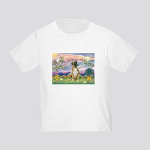 Cloud Angel & Boxer Toddler T-Shirt