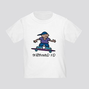 Skateboard Kid Toddler T-Shirt