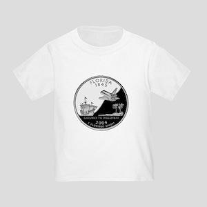 Florida Quarter Toddler T-Shirt