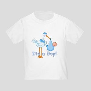 It's a Boy! Stork Toddler T-Shirt