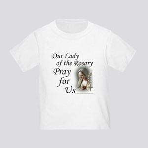 Our Lady of the Rosary (2) Toddler T-Shirt