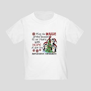 Christmas Penguins Amyloidosis Toddler T-Shirt