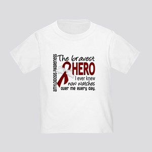 Bravest Hero I Knew Amyloidosis Toddler T-Shirt