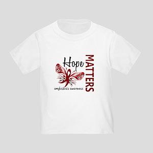 Hope Matters 1 Amyloidosis Toddler T-Shirt