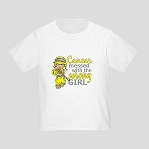 Combat Girl Sarcoma Toddler T-Shirt