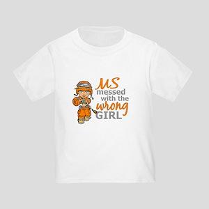 Combat Girl MS Toddler T-Shirt