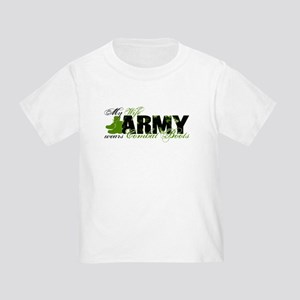 Wife Combat Boots - ARMY Toddler T-Shirt