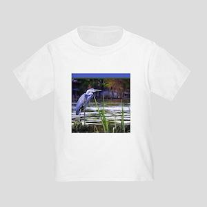 Blue Heron Sketch T-Shirt