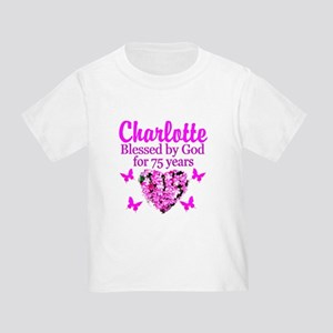 CHRISTIAN 75TH Toddler T-Shirt