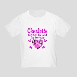 80TH PRAYER Toddler T-Shirt