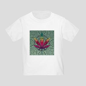 Marijuana Leaf Toddler T-Shirt
