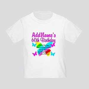 UPLIFTING 60TH Toddler T-Shirt
