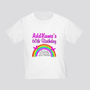 BLESSED 60TH Toddler T-Shirt