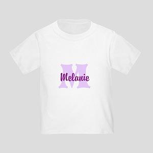 CUSTOM Lilac Purple Monogram T-Shirt