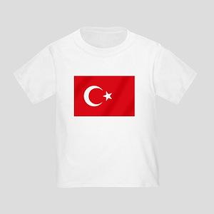 Flag of Turkey Toddler T-Shirt