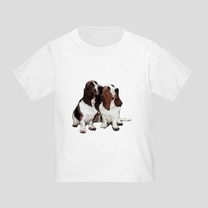 Basset Hounds Toddler T-Shirt