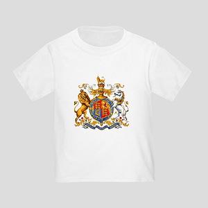 Royal Coat Of Arms Toddler T-Shirt