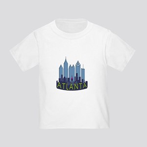 Atlanta Skyline Newwave Cool Toddler T-Shirt
