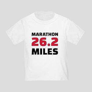 Marathon 26 miles Toddler T-Shirt