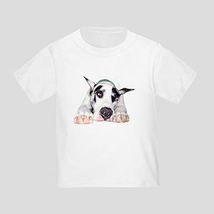 Great Dane Shy Harlequin Toddler T-Shirt