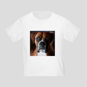 Adoring Boxer Dog Toddler T-Shirt