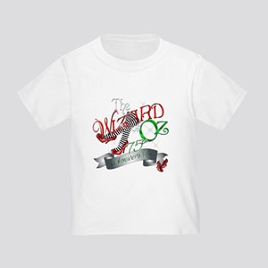 75th Anniversary Wizard of Oz Red Shoes Toddler T-