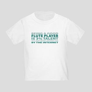 Good Flute Player Toddler T-Shirt