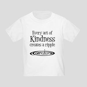 KINDNESS RIPPLE Toddler T-Shirt