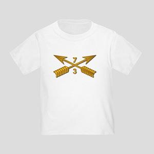 3rd Bn 7th SFG Branch wo Txt Toddler T-Shirt