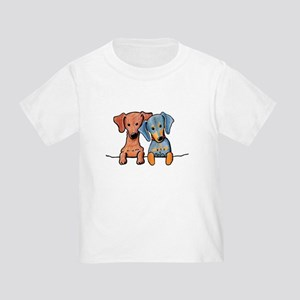 Pocket Doxie Duo Toddler T-Shirt