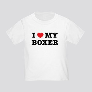 I Heart My Boxer T-Shirt