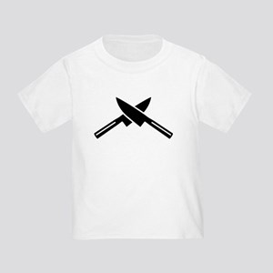 Crossed knives Toddler T-Shirt