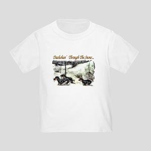 Dachshund Christmas Toddler T-Shirt
