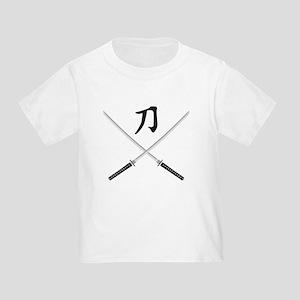 samurai sword Toddler T-Shirt