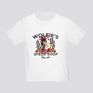 Wolfie's Speed Shop Toddler T-Shirt