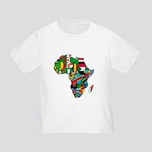 Flags of Africa Toddler T-Shirt