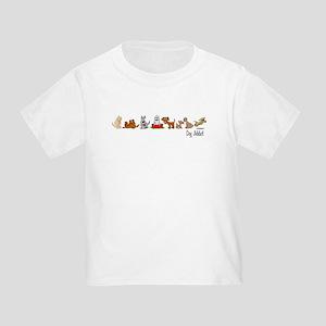 Dog Addict Toddler T-Shirt