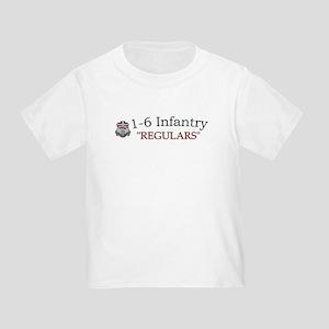 1st Bn 6th Inf Toddler T-Shirt