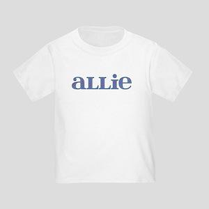 Allie Blue Glass Toddler T-Shirt