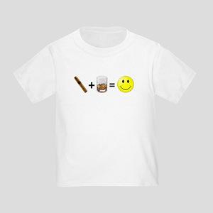 Cigar & Bourbon Toddler T-Shirt