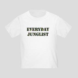 Everyday Junglist (Black Border) Toddler T-