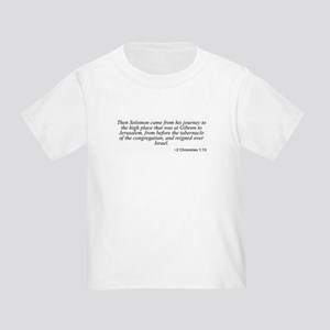 2 Chronicles 1:13 Toddler T-Shirt
