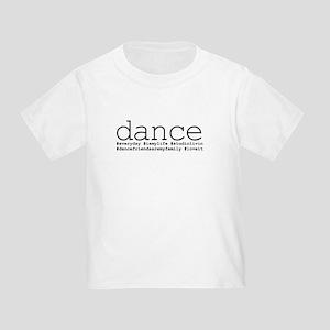 dance hashtags Toddler T-Shirt