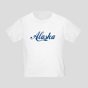 Alaska (cursive) Toddler T-Shirt