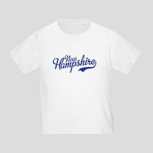 New Hampshire Script Font T-Shirt