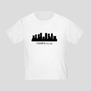 Tampa Cityscape Skyline T-Shirt