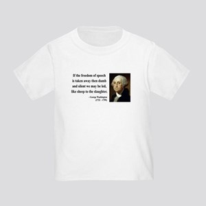 George Washington 3 Toddler T-Shirt