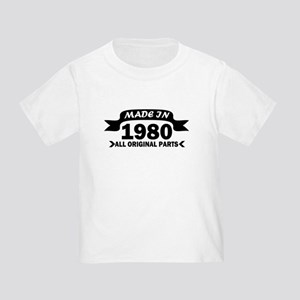 made in 1980 born T-Shirt