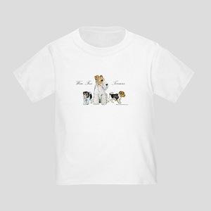 Fox Terrier Family Toddler T-Shirt